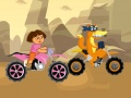 Hra Dora Explorer Racing. Zahrajte si on-line